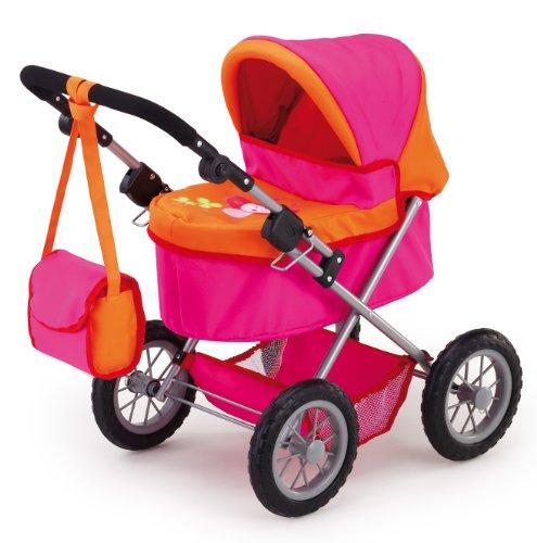 Bayer Design 13043 - Puppenwagen Trendy, pink/orange