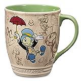 Disney Store Jiminy Cricket Coffee Mug Cup Pinocchio