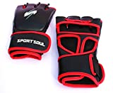 SportSoul MMA Gloves Cross-Cuff, Size - Small