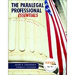 VangoNotes for The Paralegal Professional, Essentials, 2/e | Henry Cheeseman,Thomas F. Goldman