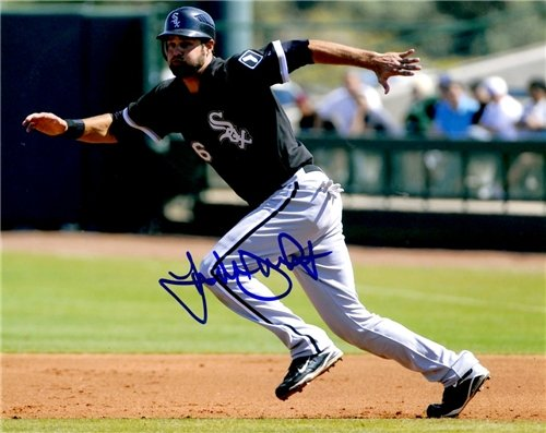 Autographed/Hand Signed Jordan Danks 8x10 8x10 Photo Chicago White Sox at Amazon.com