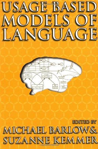 Usage-Based Models of Language