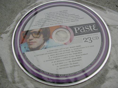 Paste Magazine Music Sampler #23