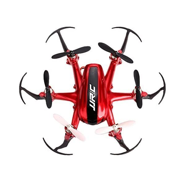 JJRC-H20-RC-Quadcopter-Mini-Drone-with-24G-4CH-6-Axis-Gyro-RTF-Red