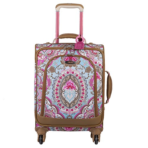 oilily-rolling-suitcase-travel-lotus-soft-trolley-spinner-small-sand