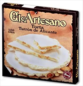 Amazon.com : El Artesano Torta Alicante with Almonds and Honey 7 Oz