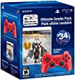 Sony Computer Entertainment PS3 DS3 Bundle - DS3 Red, God of War: Saga Collection, USB Cable - Red - God of War Edition