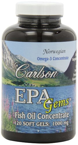 Carlson epa gems 120 softgels your healthy mart for Carlson fish oil review