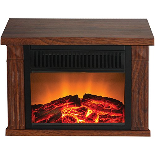 Frigidaire Tzrf-10344 Zurich Tabletop Retro Electric Fireplace, Medium