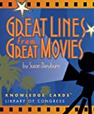 Great Lines From Great Movies Knowledge Cards Deck (0764925695) by Pomegranate
