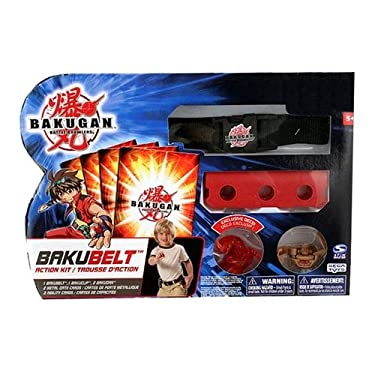 Bakugan Battle Brawlers Game Exclusive Bakubelt Action Kit Includes 2 Figures