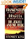 Frankenstein; Dracula; Dr Jekyll and Mr Hyde (Signet classics)