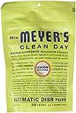 Mrs. Meyers Clean Day Automatic Dishwashing Soap Packs, Lemon Verbena, 12.7 oz, 2 pack