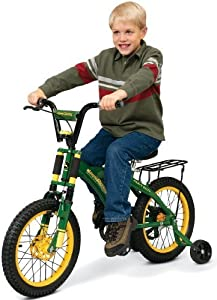 Buy Spiffy, Sturdy Bicycle Comes With Plenty Of Features And Iconic John Deere Color Scheme - Learning...
