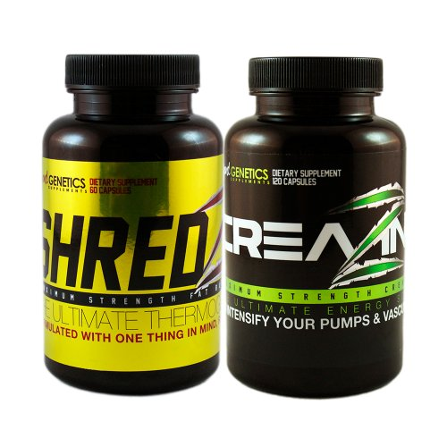 Creatine Maximum Strength Weight Loss-Max Pump Stack SHREDZ + CREAZINE
