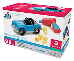 Battat Take-A-Part Roadster, 22 Pcs