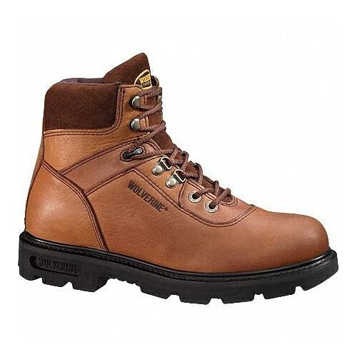 Amazon.com: Wolverine Boots Mens Brown 6-in. Traditional Boots 4213