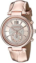 Michael Kors Women's Sawyer Rose Gold-Tone Watch MK2445