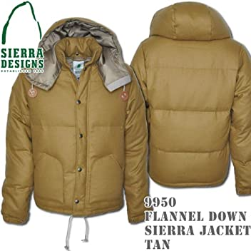 Flannel Down Sierra Jacket 9950: Tan