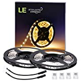 LE-2-Pack-164ft-LED-Strip-Lights-300-Units-SMD-3528-LEDs12V-DC-Flexible-LED-Light-Strips-91-Lumensft-15-wattsft-3000k-Warm-White-Non-waterproof-LED-Tape-LED-ribbon