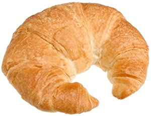 Pillsbury Frozen Baked Butter Croissant, Curved, 3-Ounce Croissants (Pack of 48)