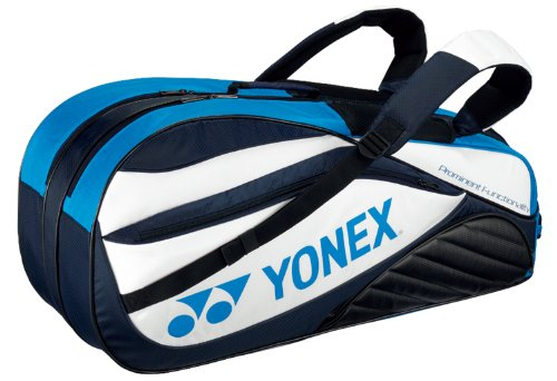 Yonex (YONEX) 6 Racquet bag (with Backpack) (tennis 6 book for) White x turquoise BAG1412R