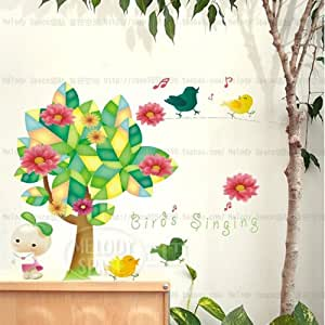 Amazon com wholesale considerably wall fairy tale forest cartoon the