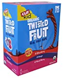 Clif Kid Organic Fruit Rope, Variety Pack, 8 Strawberry, 8 Mixed Berry, 8 Grape, Net Wt. 16.8 Oz. Pack of 24