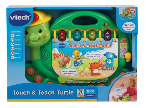 Imagen de VTech - Toque y Teach Turtle