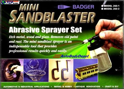 Mini Sandblaster Abrasive Sprayer Set