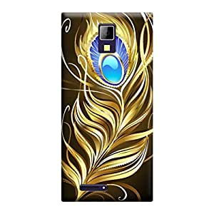 Digi Fashion Designer Back Cover with direct 3D sublimation printing for Micromax Canvas Xpress A99