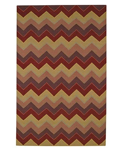 Capel Rugs Williamsburg Irish Stitch Rectangle Flat Woven Rug