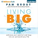 Living Big: Embrace Your Passion and Leap into an Extraordinary Life (       UNABRIDGED) by Pam Grout Narrated by Pam Grout