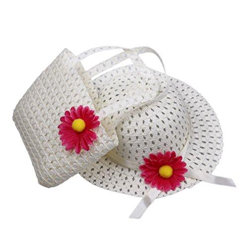 eozy-1-lot-de-chapeau-de-soleil-chapeau-de-paille-avec-une-grande-fleur-sac-a-main-assorti-en-paille