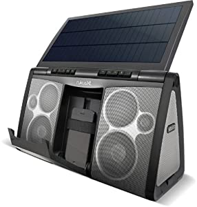 soulra rukus chaine hi fi bluetooth portable avec panneau solaire xl audio hifi. Black Bedroom Furniture Sets. Home Design Ideas