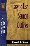 img - for Easy-to-Use Sermon Outlines (Sermon Outline Series) book / textbook / text book