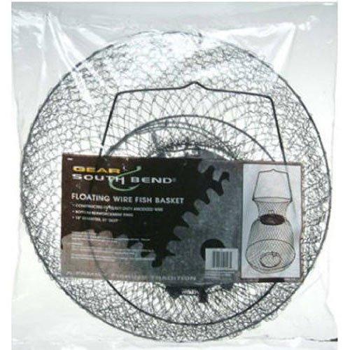 South bend floating wire fish basket 039364121465 for Floating fish basket