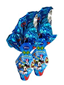 Disney Mickey Mouse XXL Chocolate Egg with Surprise 150g (pack of 2)