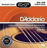 D\'Addario Cordes pour guitare à résonateur avec revêtement D\'Addario EXP42, 16-56