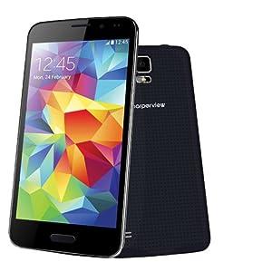 Supersonic 5-Inch Dual SimCard PhoneTab Unlocked Smartphone - Retail Packaging - Black