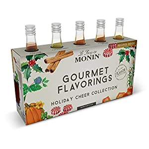 Monin Holiday Cheer Collection Flavoring Syrups