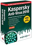 51fNiezCPUL. SL160  Kaspersky Anti Virus 2010  3 User [Old Version] Reviews