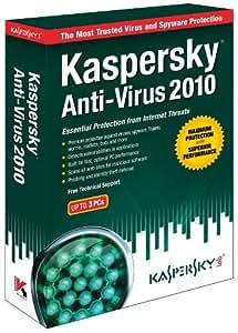 Kaspersky Anti-Virus 2010  3-User [Old Version]