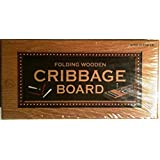 Folding Wooden Cribbage Board