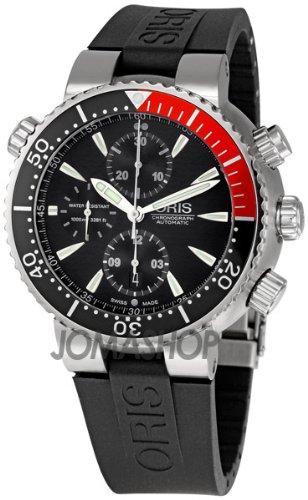 Oris TT1 Divers Titan Chronograph Mens Watch 674-7599-7154RS