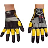 Disguise Hasbro Transformers Age of Extinction Movie Bumblebee Child Gloves, One Size Child