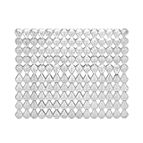 Harman Diamond Anti-Bacterial Sink Mat, Smoke