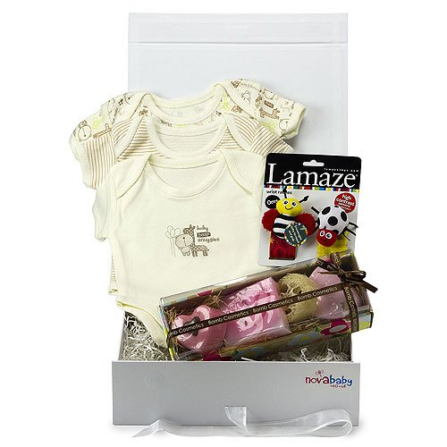 Newborn Baby Gift Set (0-3 months) 'McKenzie' from Novababy in White Keepsake Box
