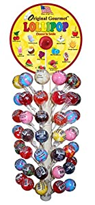Original Gourmet Lollipop Display Pole Kit, 1.1 Ounce (Pack of 120)