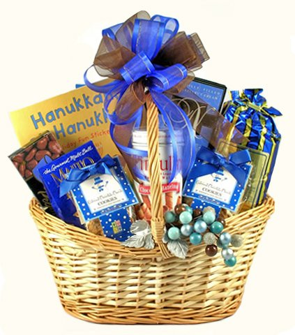 Family Gourmet Food Hanukkah Gift Basket